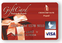I'm looking for credit cards. Gift Card